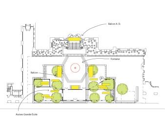 Plan Place Pasteur