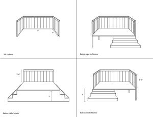 Quantite balcons